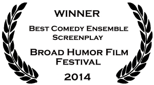 Broad Humor award graphic